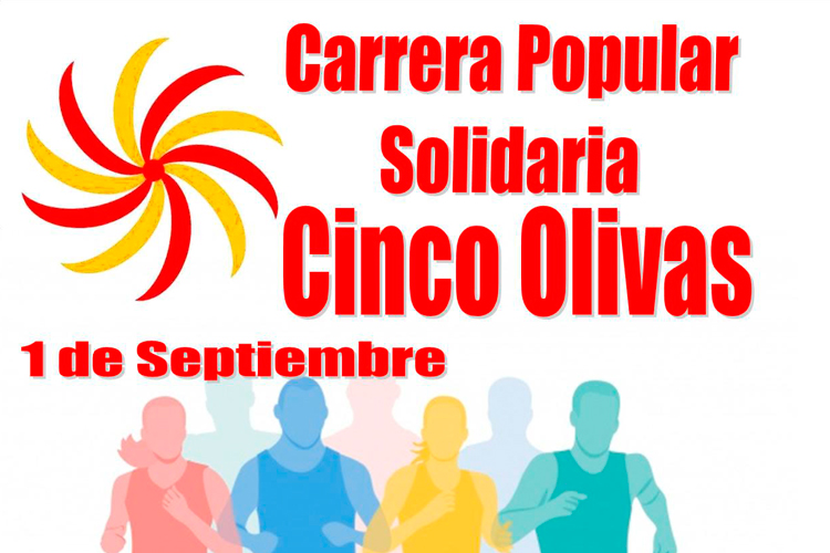 Carrera solidaria Cinco Olivas